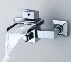 wall mount faucets bath single handle wall mount waterfall bathroom sink faucet or bathtub inside mounted