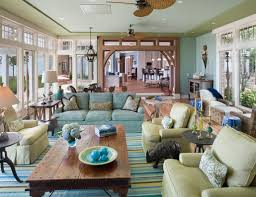 Traditional Living Room Paint Colors Decor Interior Blue Green House Home Living Room Decor