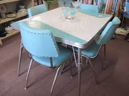 reserved 1950s kitchen table and chairs mint dining set with six 1950