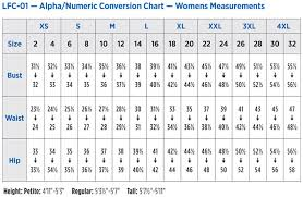 Lab Coat Size Conversion Chart 15 Actual Dickies Coat Size Chart