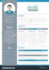 modern resume curriculum vitae cv design stock vector  modern resume curriculum vitae cv design photo