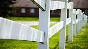 installing a fence white split rail wood fence installing fence panels on uneven ground
