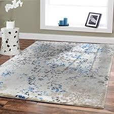 Premium Rug Large Rugs For Dining Rooms 8 by 11 Blue Beige Brown Cream 8x10 Area Amazon.com: