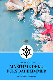 Maritime Deko Fürs Bad Maritime Dekonet