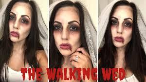 easy makeup tutorial zombie bride