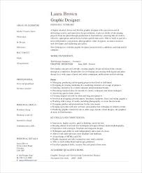 Graphic Resume Examples Resume Template Directory