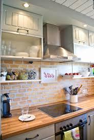 Full Size of Kitchen:kitchen Brick Backsplash Ideas Painting Faux Brick  Backsplash Brick Veneer Panels ...