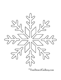 Spray Snow Stencils Christmas Printable Festival Collections