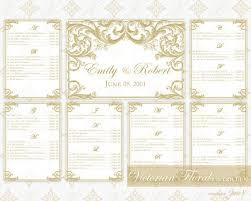 diy printable wedding seating chart template