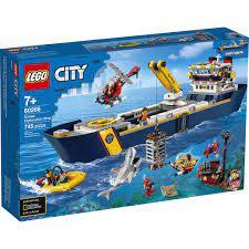 Đồ chơi LEGO CITY - Tàu Thám Hiểm Đại Dương - Mã SP 60266
