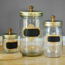 Decorative Glass Jars For Kitchen Canisters glamorous decorative glass kitchen canisters Kitchen 29