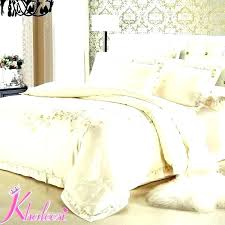 satin comforter queen white and silver taco pertaining to sets decorating gold super king size bedding