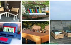 diy outdoor garden furniture ideas. Modren Outdoor 10 DIY Outdoor Patio Furniture Ideas Picture Instructions On Diy Garden O