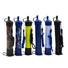 Multifunctional <b>Outdoor Water Purifier</b> Survival Kit Camping Clear ...