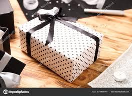 Beautiful Gift Box Design Beautiful Gift Box On Table Stock Photo Belchonock