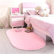 bedroom rugs pink super soft modern fluffy area rug for living room kids nursery childrens