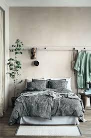 Natural Bedroom Interior Design Washed Linen Pillowcase Natural Bedroom Home Decor