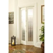 Backyards : Bifold Doors Interior Closet Decorative Finished Glass ...