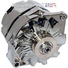 ford 1 wire alternator 200amp alternator fits ford falcon mustang hotrod chrome chevy gmc 1 wire