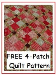 The Quilt Ladies Book Collection: Free 4-Patch Quilt Tutorial for ... & hot to make a Four-patch quilt block free pattern Adamdwight.com