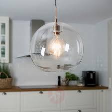 Transparante Glazen Hanglamp Gloria 38 Cm Lampen24nl