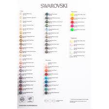 Pearl Color Chart Swarovski Color Chart Pearls Colour Chart