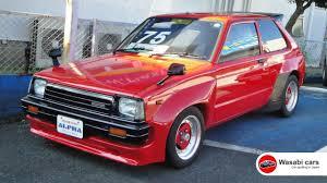 In a Car Yard: A 1983 Toyota Starlet DX (KP61) TRD N2 Widebody ...