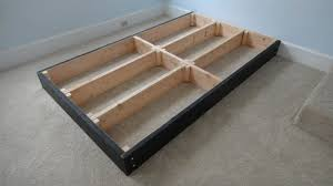 How To Make Drawers How To Make A Platform Bed Frame With Drawers Wooden Furniture Plans