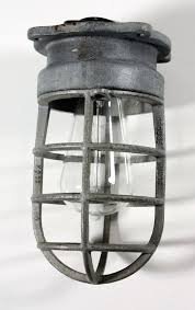 lighting fixture antique cage light fixture for wall or ceiling signed hinds for lighting fixture