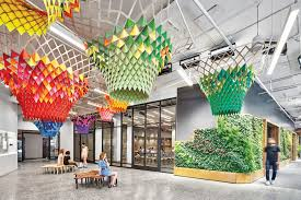 Hillman Dibernardo Lighting Design Etsy Headquarters Embrace Laptop Culture And Local Makers