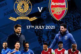 مباراة ارسنال وجلاسكو رينجرز اليوم 17-07-2021 في مباراة ودية