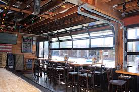 glass garage doors restaurant. Exellent Restaurant Bar U0026 Restaurant Doors And Glass Garage A