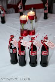 DIY Coca-Cola Bottle Wedding Favor Idea #Coke bottle wedding favors #Red  wedding