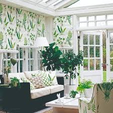 roman blinds and roll up varieties are a simple yet stylish solution for conservatory windows they can be hung over each panel of glass and can be tied at