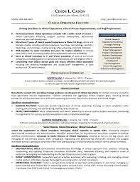 clinical executive resume template clinical executive resume