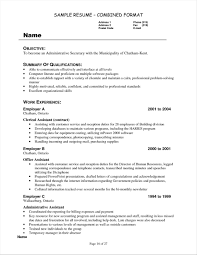 Unit Clerk Resume Objective Examples Your Prospex