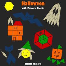 <b>Halloween</b> with <b>Pattern</b> Blocks | Doodles and Jots | <b>Halloween</b> ...