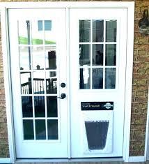 storm door with dog door built in storm door with dog door door pet doors for