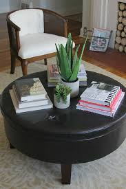 ... Round Coffee Table, Astounding Round Coffee Table Decorating Ideas For  Living Rooms Also Round Coffee