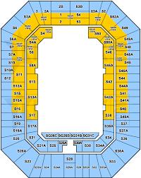Brisbane Entertainment Centre Seating Map Austadiums