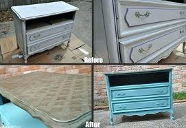 stenciling furniture ideas. Stenciled Furniture Ideas Before After Of A Dresser Painted With Stencil Decorating Christmas Tree Garland Stenciling E