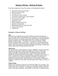 sensory writing assignment prompts and examples by relentless  sensory writing assignment prompts and examples