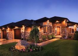 house outdoor lighting ideas. Wired In Gutter Or Soffit Lighting On House Exterior Instead Of Solar/wired Ground Lights Outdoor Ideas H