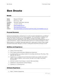 sample printable resume templates for resume sample information sample resume printable resume template example for senior environment artist abilities and experience