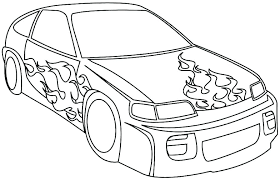 Coloring Pages Of Cars To Print Police Car Coloring Pages Car