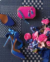 9 ways to add navy and fuchsia to your wedding celebration Wedding Colors Navy And Pink 9 ways to add navy and fuchsia to your wedding celebration martha stewart weddings wedding colors navy blue and pink