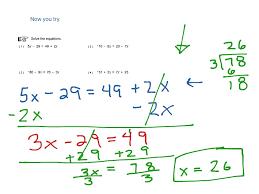 worksheet works solving multi step equations variables on both sides