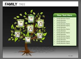 my family tree template genealogy powerpoint template 7 powerpoint family tree templates
