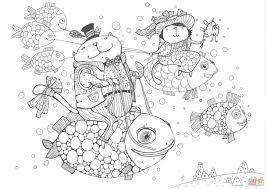 Free Fish Coloring Pages To Print Beautiful Fish Colouring Pages