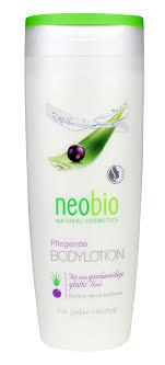 NEOBIO Натуральный <b>увлажняющий лосьон для</b> тела 250 мл